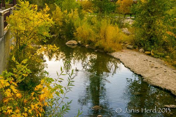 Truckee River, downtown Reno ,Nevada