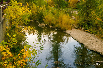 Truckee River, downtown Reno ,Nevada