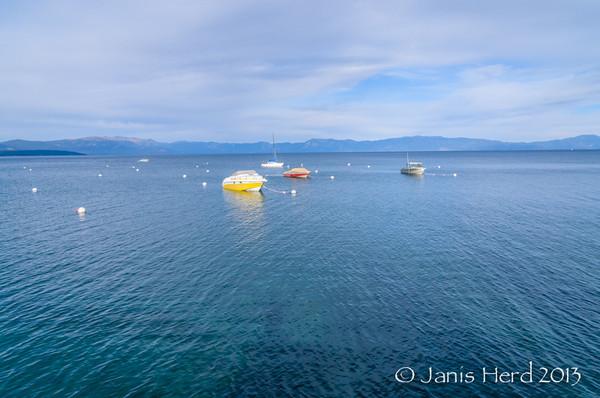 Boats, Lake Tahoe, Nevada