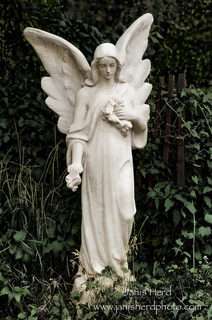 Angel statue, Taos, NM