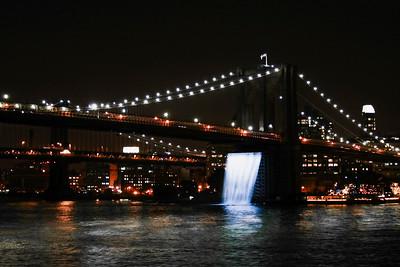 NYC Waterfalls: Brooklyn Bridge   Sept. 4th, 2008