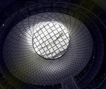 The Fulton Center Skylight
