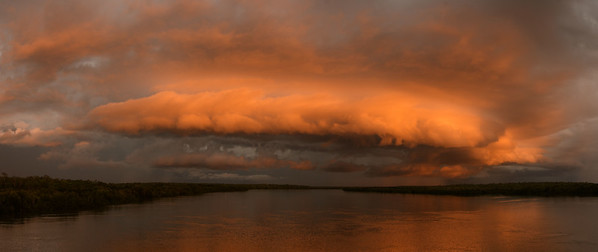 Sunset Stormfront at Elizabeth River