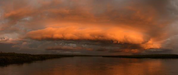 Sunset Stormfront at Elizabeth River