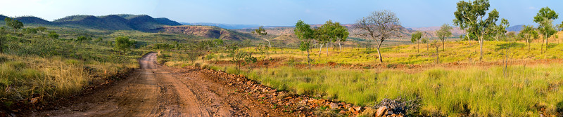 Speewah Valley in the East Kimberleys.  High megapixel panorama suitable for very large print.