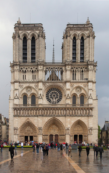 Front of Notre Dame
