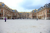 Versailles - Notice they are refurbihing the roof, which is not complete on the right.