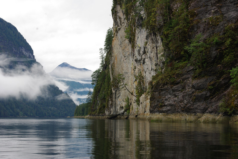 A favourite view looking down Princess Louisa Inlet in fall /09.