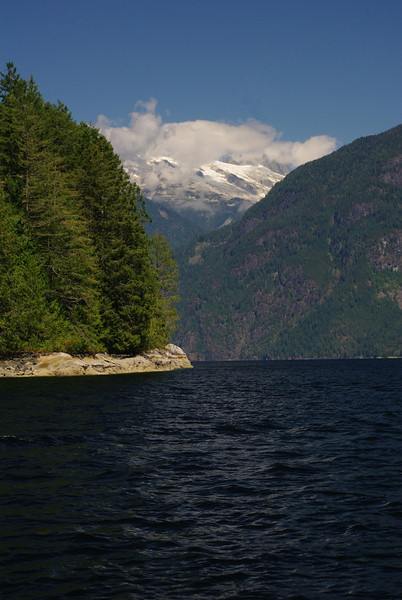 The Albert Glacier, looking past Patrick Point fall /09.
