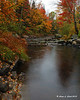 River in Fall - Croydon, NH