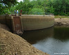 Dam from the river shore under lower than normal water level<br /> 8-15-10