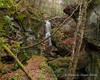 Royalston Falls - From some rocks on the side of the gorge downstream