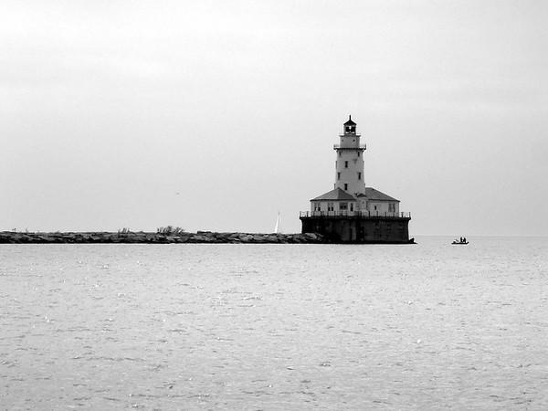 Chicago Lighthouse Lake Michigan