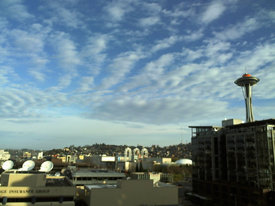 Seattle Webcam Apr 2012