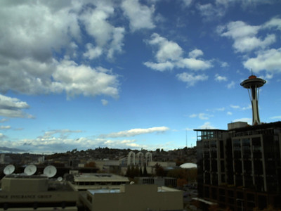 Seattle Webcam October 2012