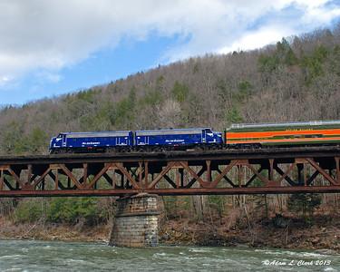 Bardwell's Ferry - Train Spotting