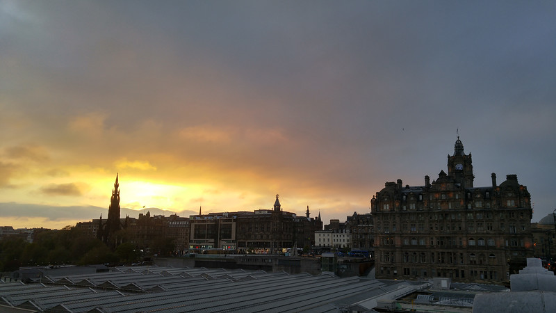 EdinburghSunset1
