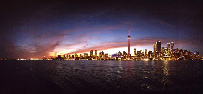TorontoSunsetPanoramic09