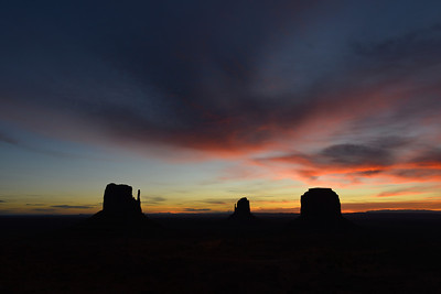 Sunrise, Monument Valley