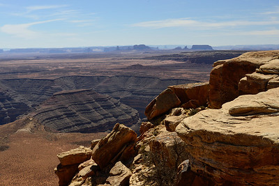 View from Muley Point, Utah