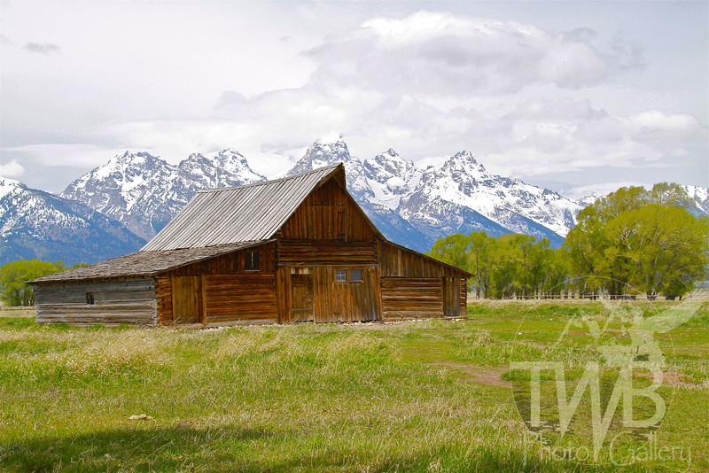 the Morman Barn, Grand Teton N.P., Wyoming