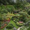 the sunken garden at Butchart Gardens, Vancouver Island, British Columbia, Canada