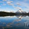 early morning reflections, Jackson Lake, Grand Teton N.P., Wyoming