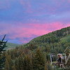 sunset Vail, Colorado