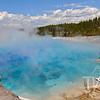 thermal springs of Yellowstone