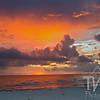 Florida Gulf shore sunset