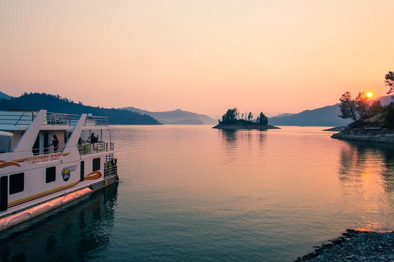 Lake Shasta, California