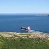 Ship leaving St. John's Harbour, NL, CA