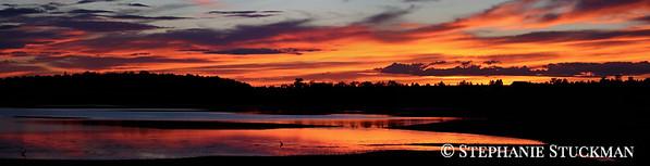 Bauer Lake Sunset