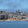 St. John's Harbour, January 1, 2016.