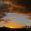sunset atop Vail Mountains, Colorado