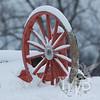 winter wagon wheel