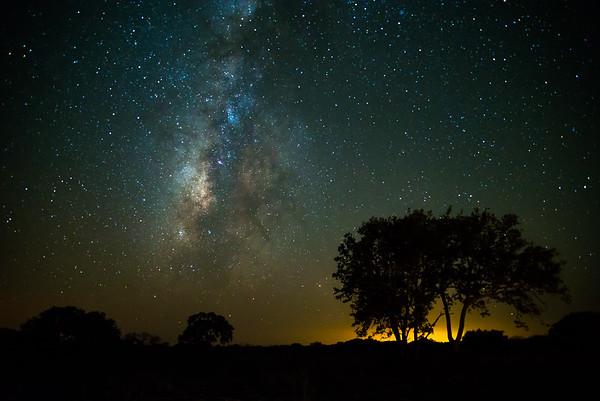 Milky Way on the Horizon
