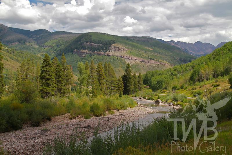 Gore Valley , through Vail. Colorado