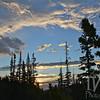 dawn over Rocky Mountain N.P.