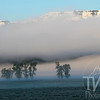 cloud cover over the Lamar Valley, Yellowstone N.P., Wyoming