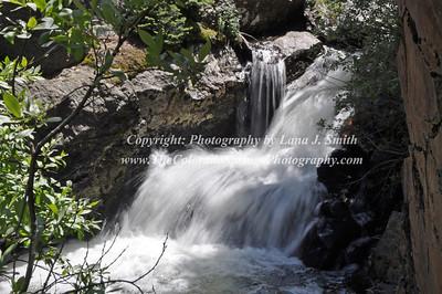RMNP cascade waterfall