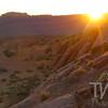 sunset at Moab, Utah