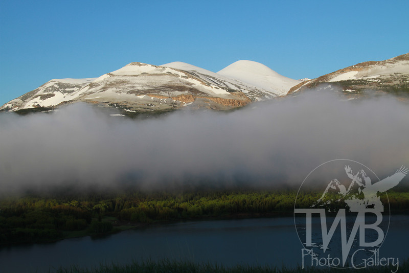 """Glacier N.P.with a """"unveiling' in the morning"""
