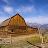 the barn at Mormon Row, Grand Tetons N.P.