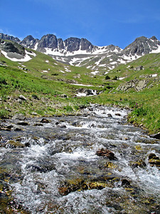 American Basin stream