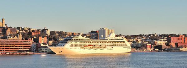 Cruise Ship in St. John's Harbour