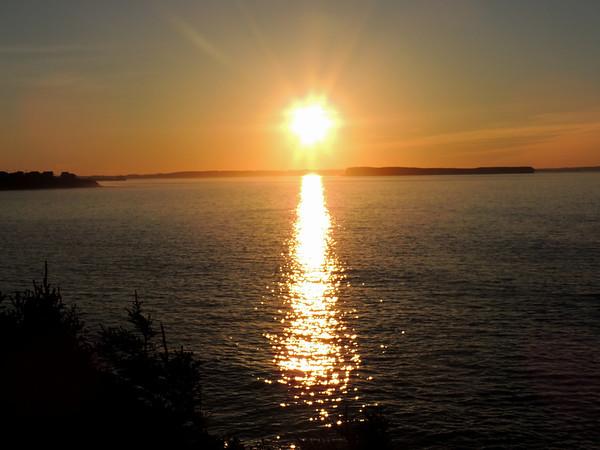 Topsail Beach Sunset, NL