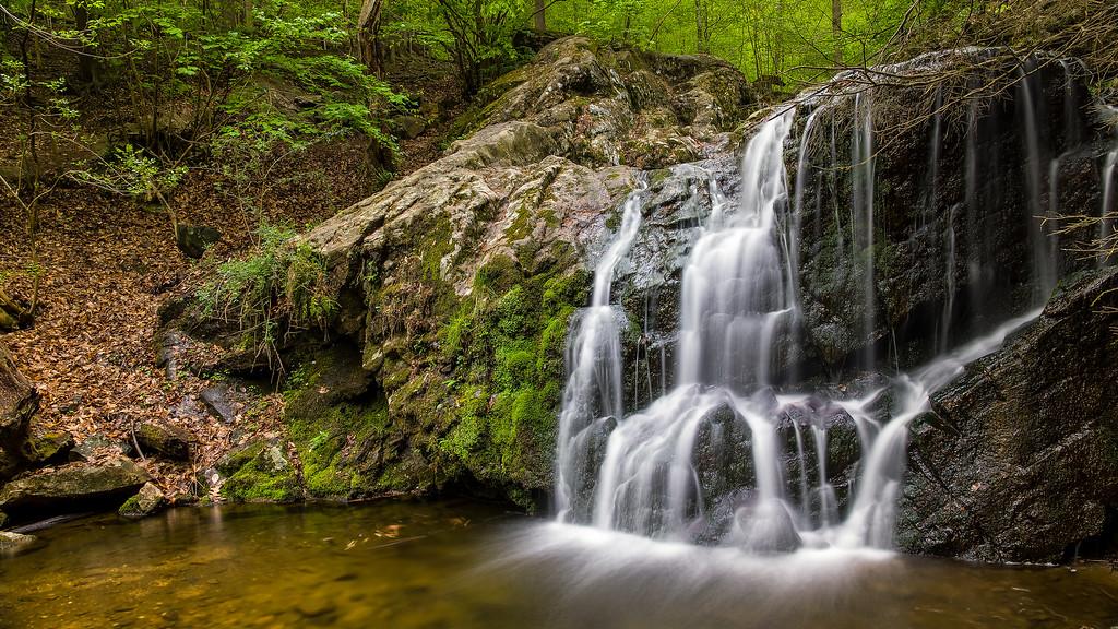 Cascade Falls (in Patapsco State Park)
