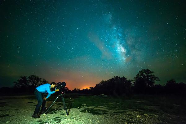 Gazing into the Galaxy