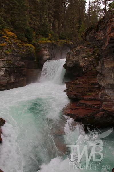 St. Mary's Falls, Glacier N.P.